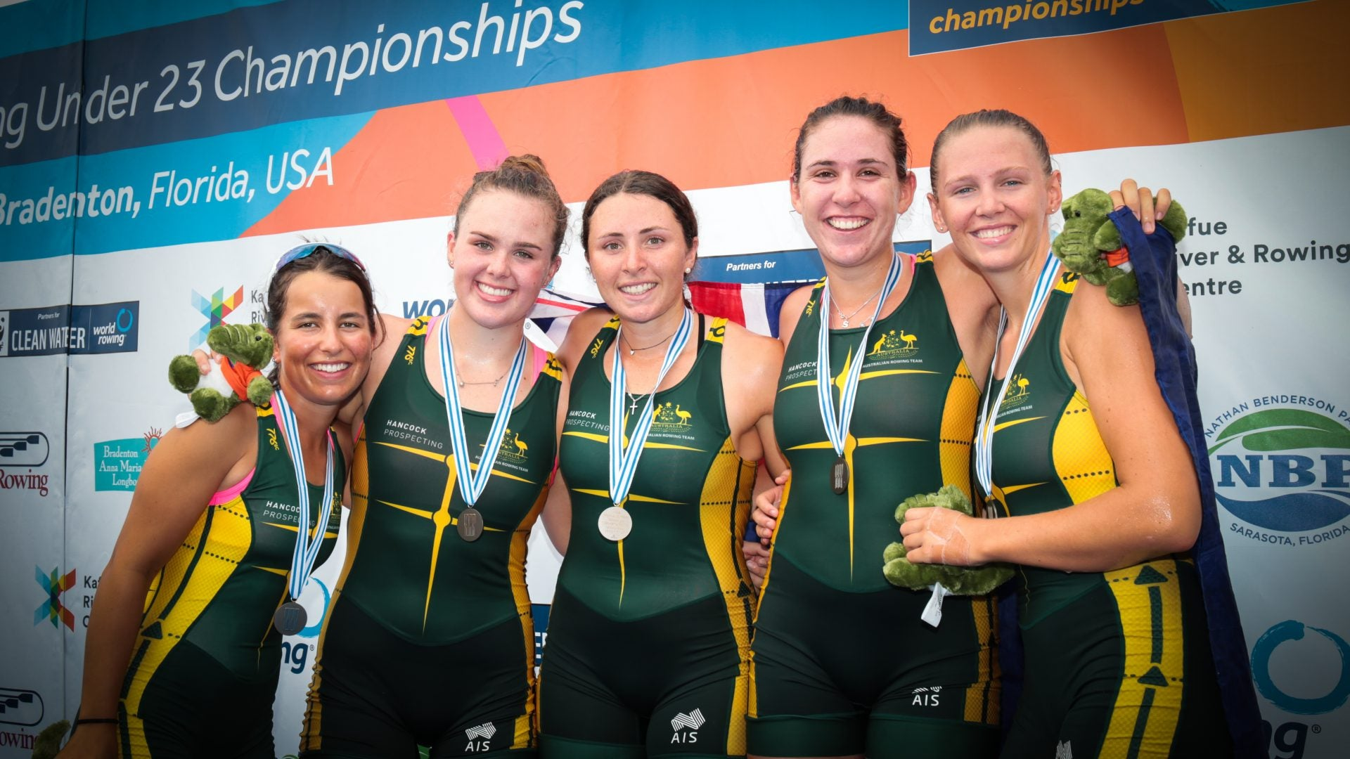 Bronze Medalists W4+ - Copyright Rowing Australia