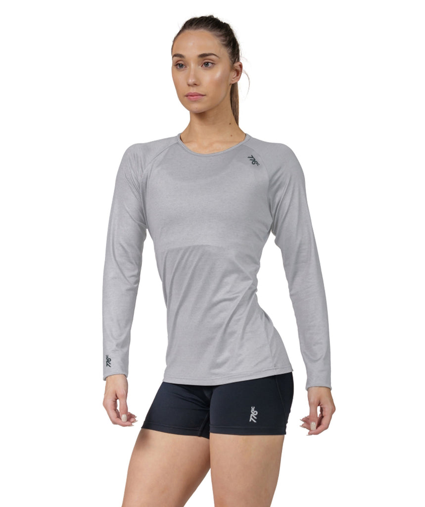 Women's Fortius LS T-Shirt - Grey