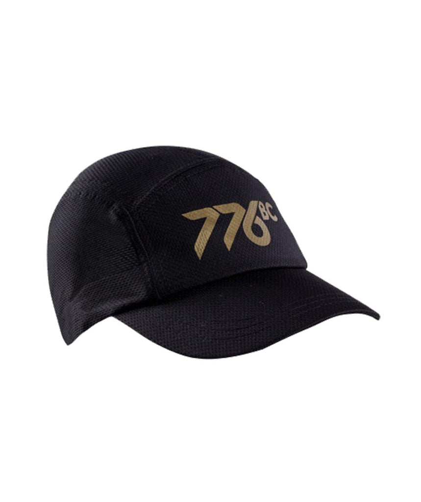 776BC Mesh Race Cap - Black/Gold - 776BC  - Headwear, RETAIL