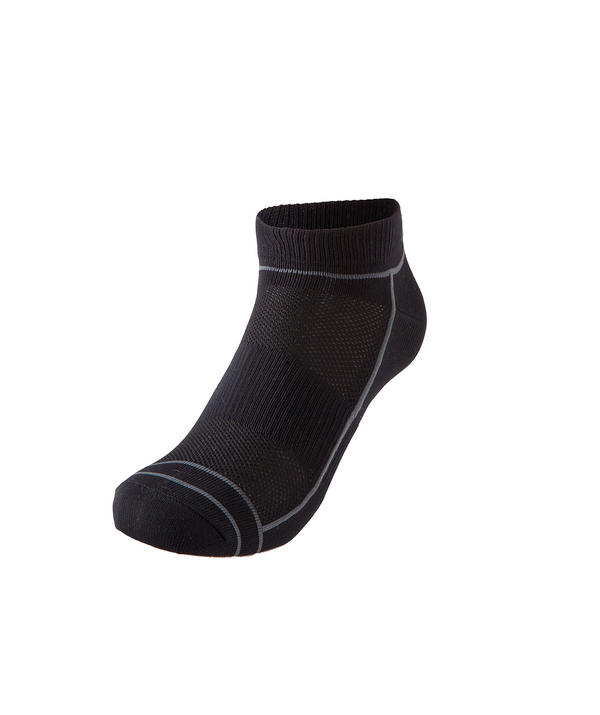 Motion Run Socks - Black/Pink