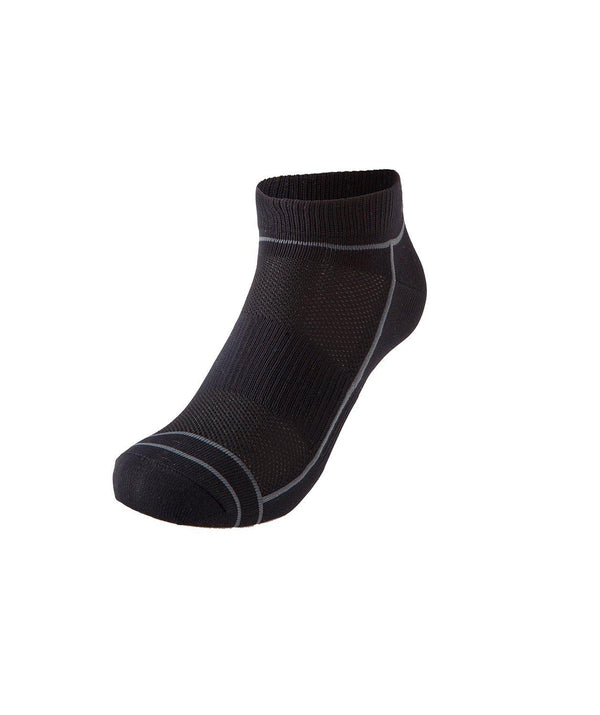 Motion Run Socks - Black/Yellow