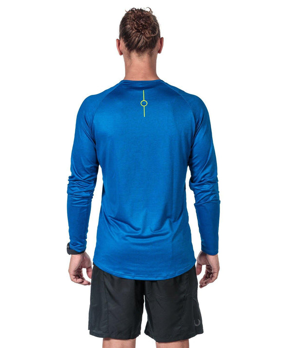 Men's Fortius LS T-Shirt - High Blue