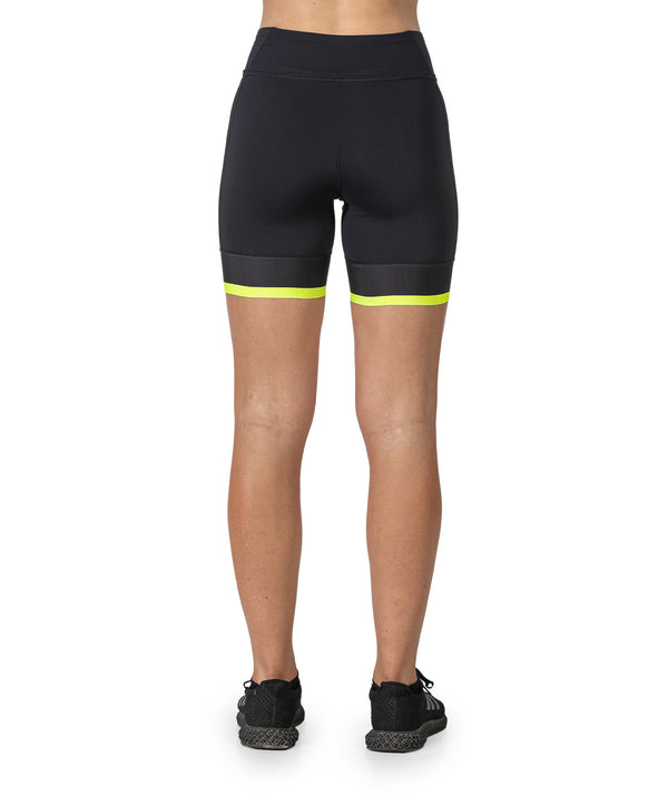 Women's Motion 2.0 Short - Black/Yellow