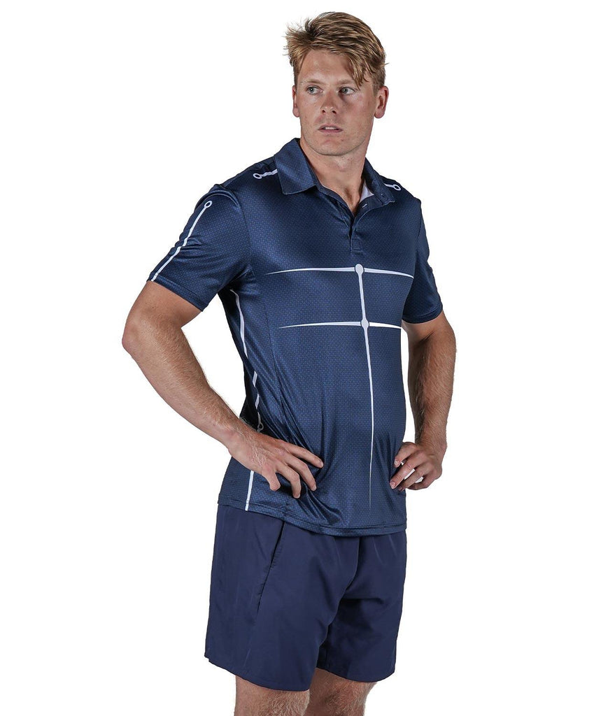 Men's Motion Golf Polo - Navy