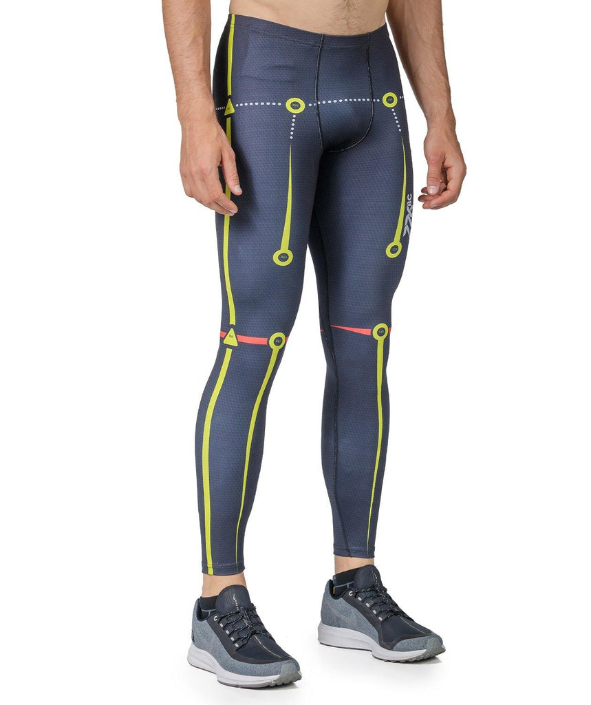 Men's Motion Pro Series Performance Tights - Black - 776BC  - compression, Men's, MOTION, MOTION PRO, RETAIL, run, Shorts & Tights, Tights, training