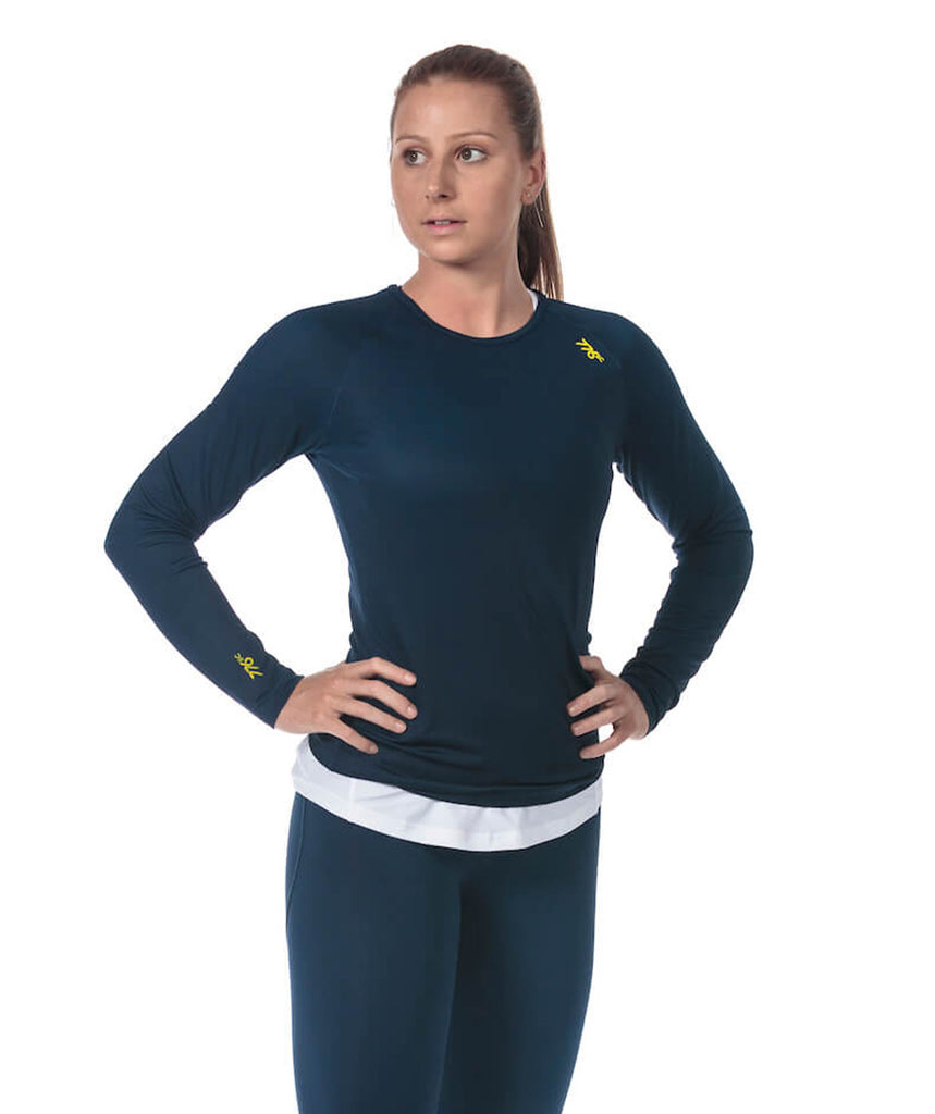 Women's Fortius LS T-Shirt - Navy
