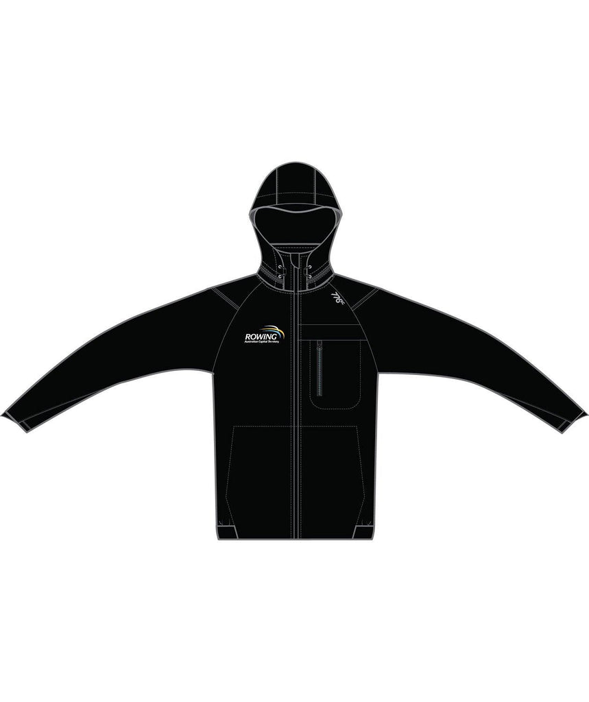 Unisex Rowing ACT Hardshell Jacket - 776BC  - ACT, Black, Club Shop