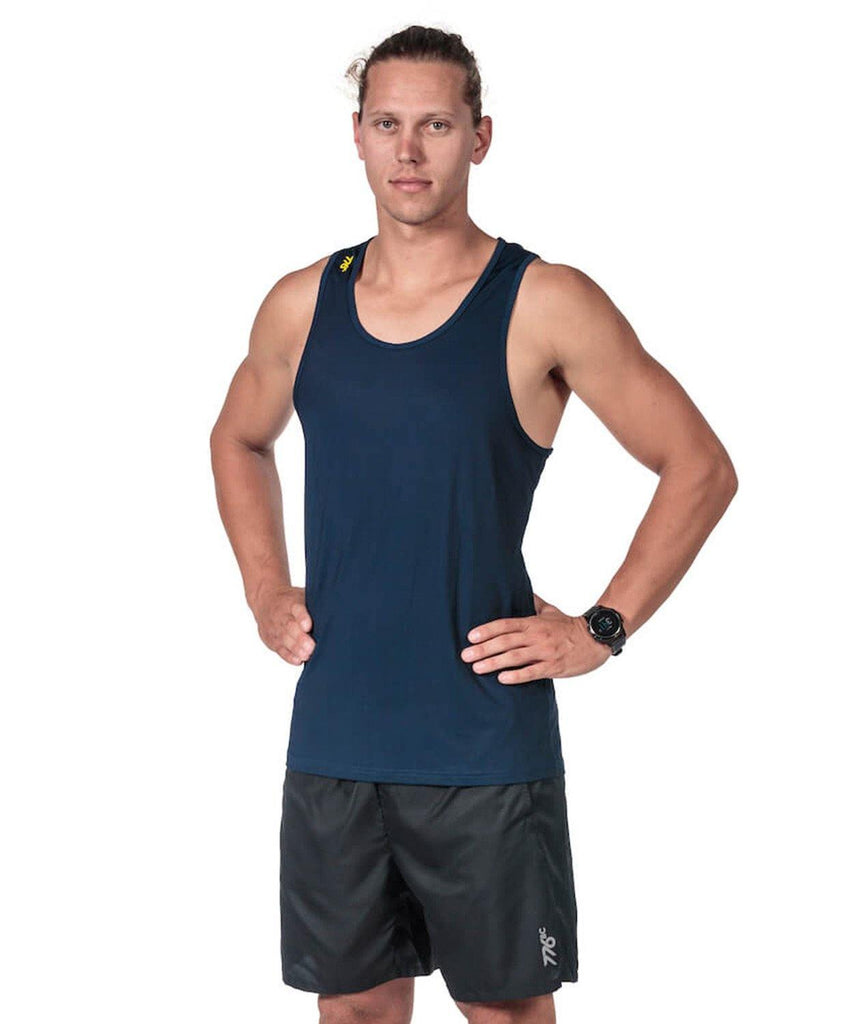 Men's Fortius Training Tank - Navy - 776BC  - Men's, Outlet