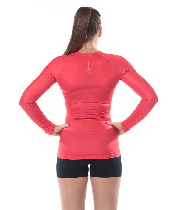Women's Fortius LS Base Layer - Magma