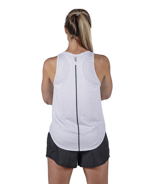 Women's Training Tank - White/Black