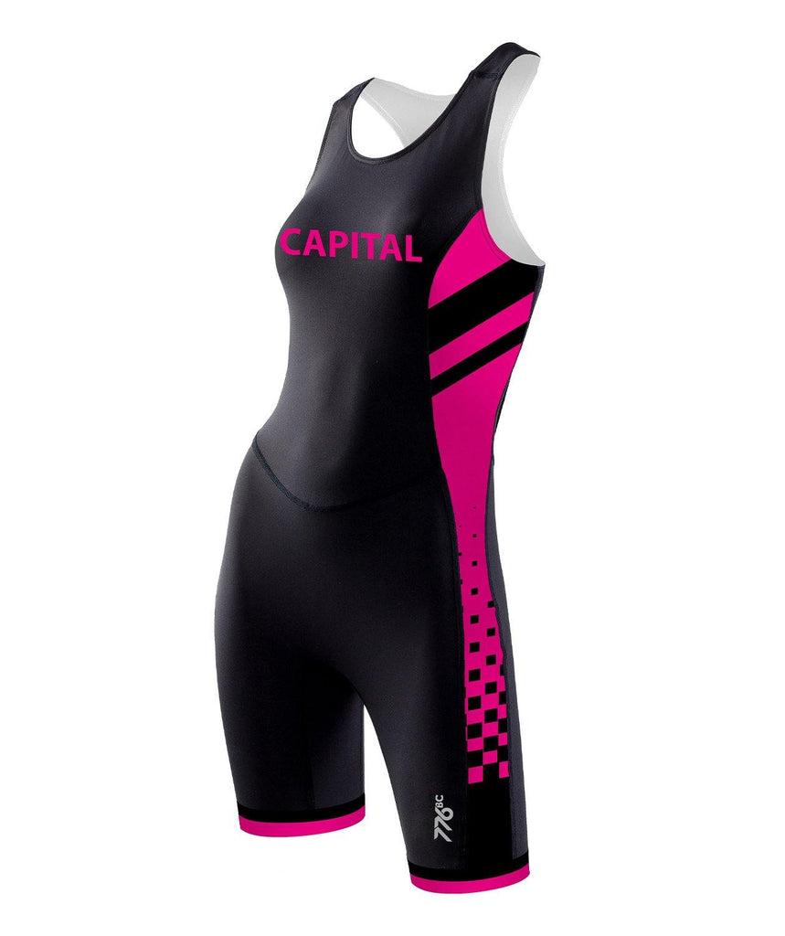 Women's Capital Crew Rowing Suit - Pink - 776BC  - CAP, Club Shop