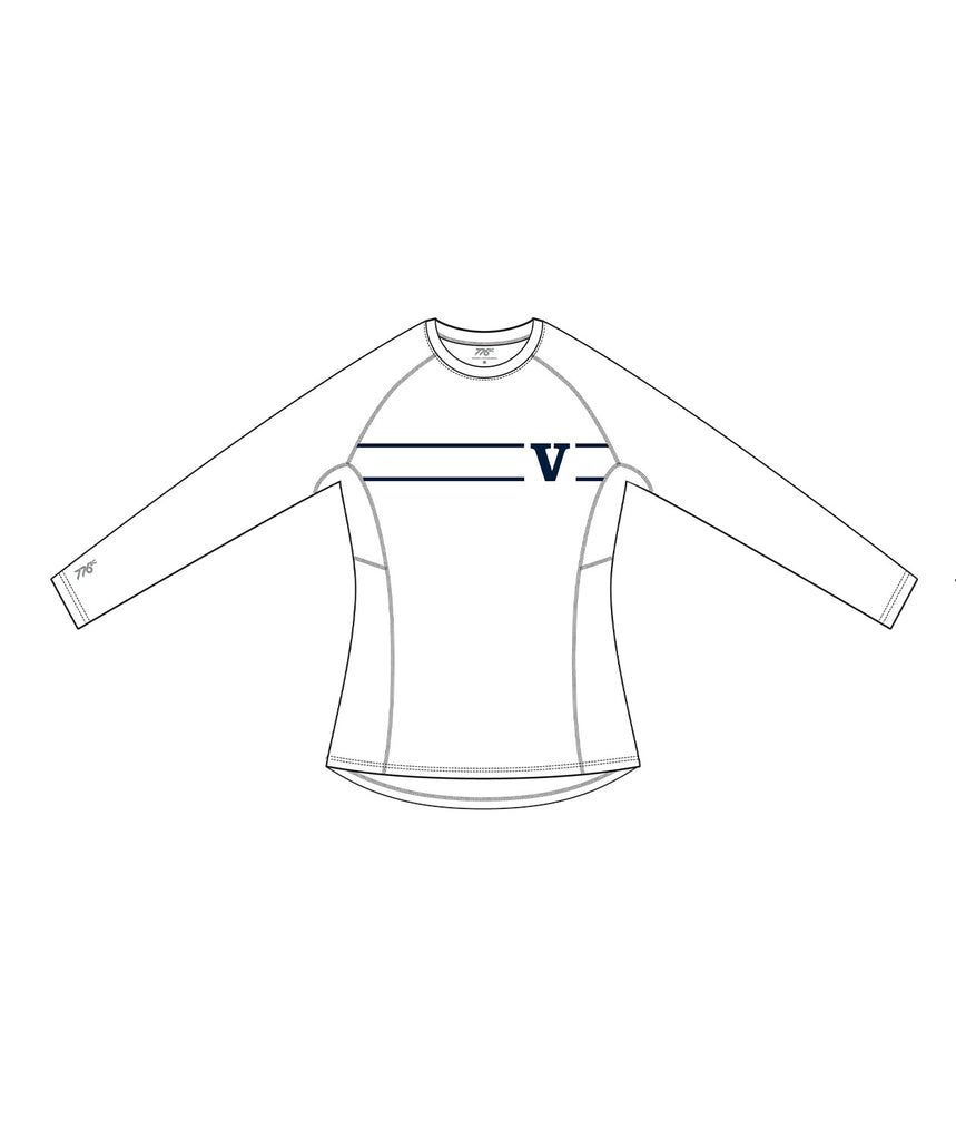 Women's Rowing Victoria LS Base Layer - White