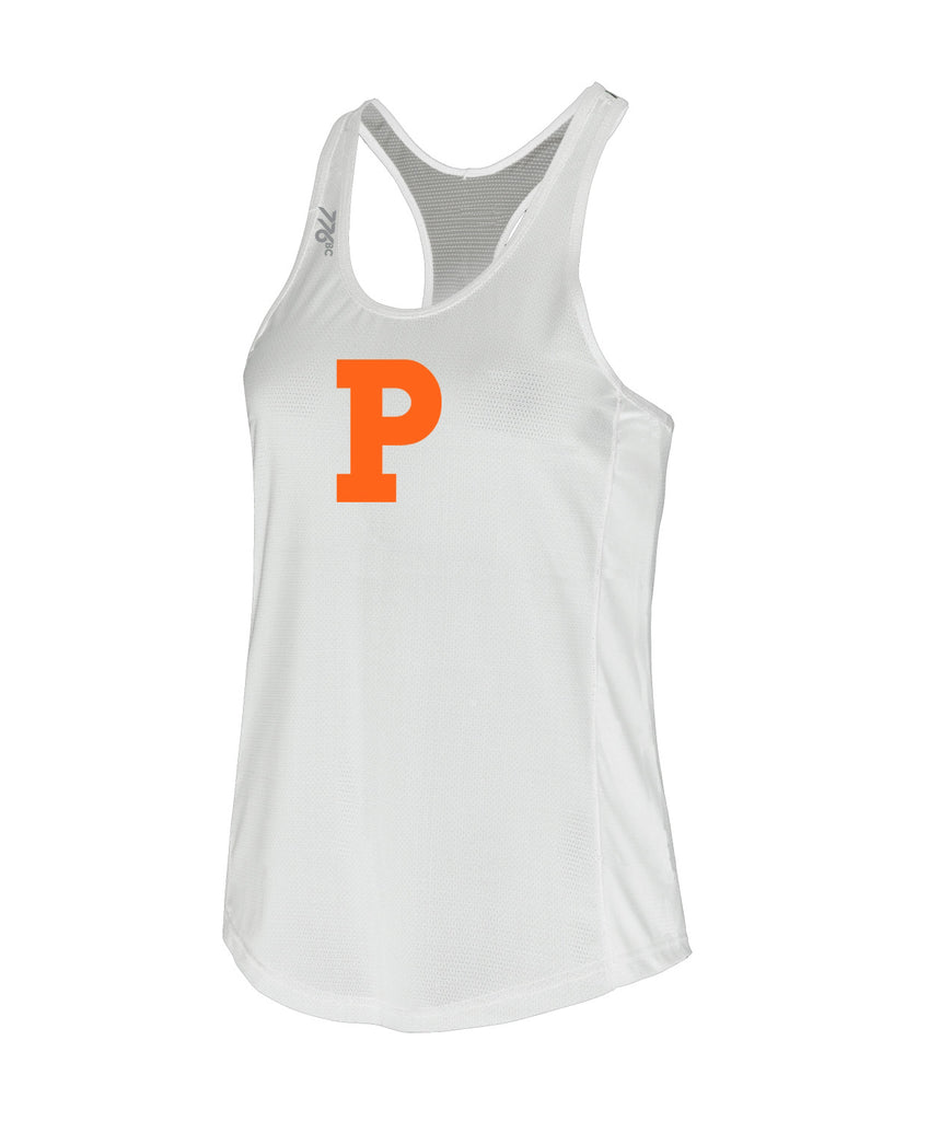 Women's Princeton Training Tank - White