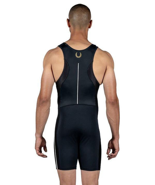 Men's Wreath Training Suit - Black