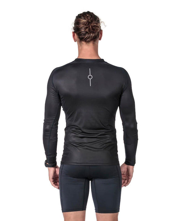 Men's Fortius LS Base Layer - Black