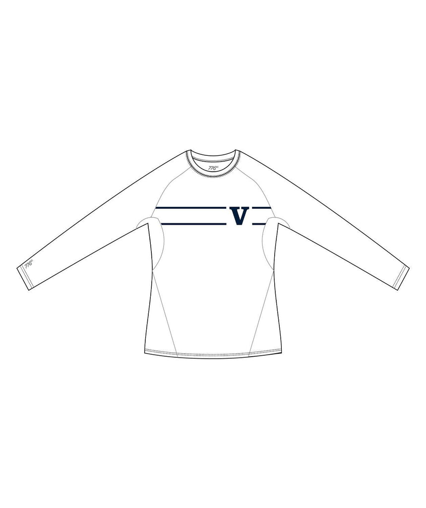 Men's Rowing Victoria LS Base Layer - White