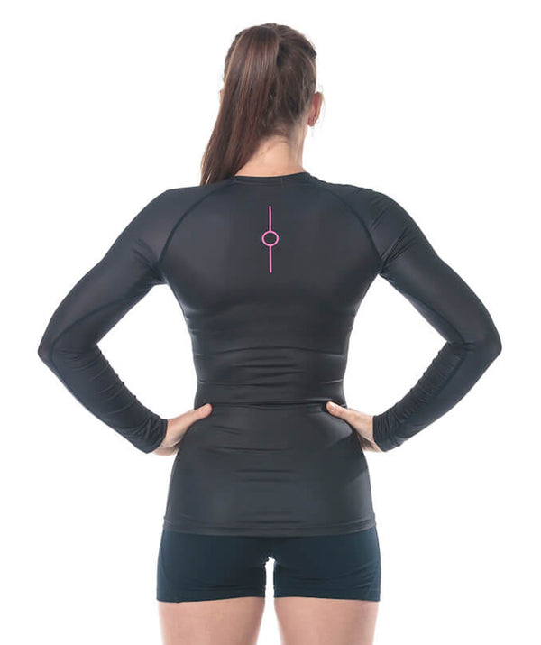Women's Fortius LS Base Layer - Black
