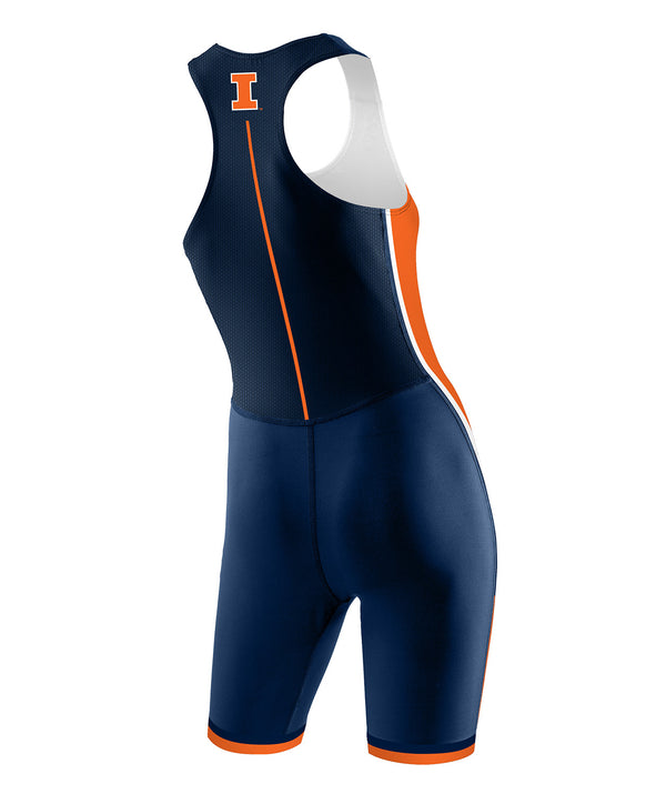 Women's Illinois Rowing Pro Rowing Suit