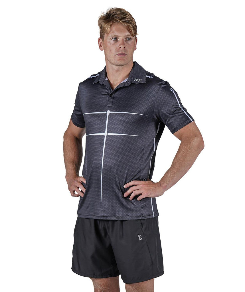 Men's Motion Golf Polo - Graphite