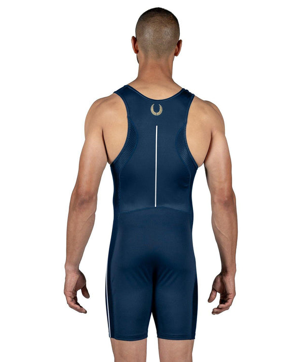 Men's Wreath Training Suit - Navy