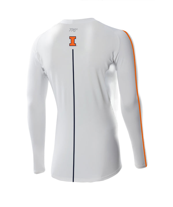 Men's Illinois Rowing LS Base Layer