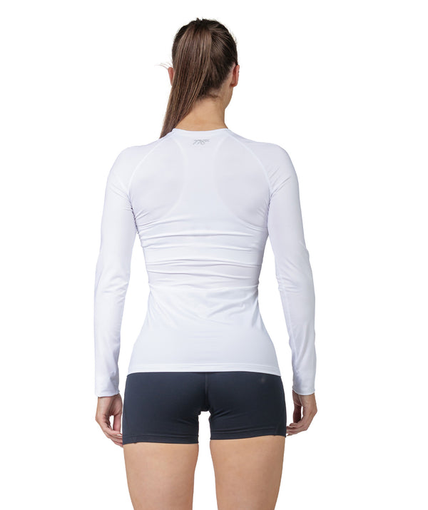 Women's Fortius LS Base Layer - White - 776BC