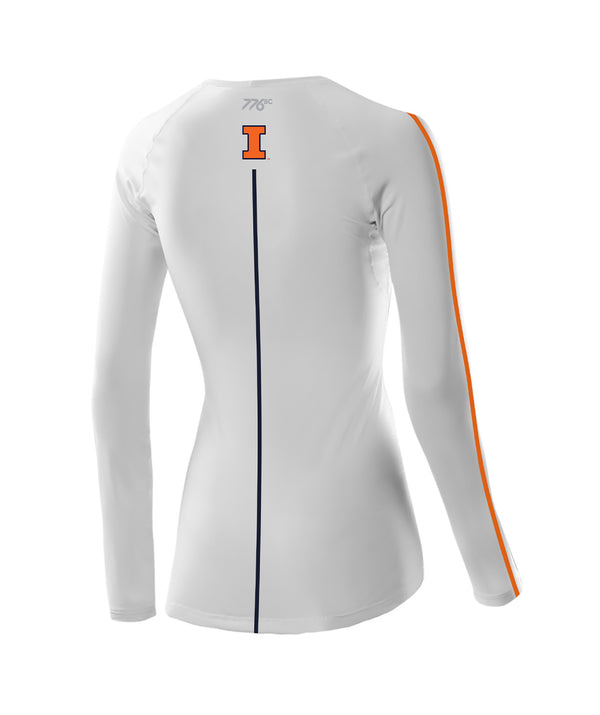 Women's Illinois Rowing LS Base Layer