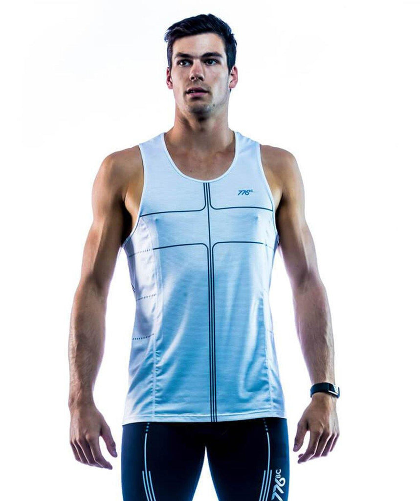 Men's K Series Tank 1.0 - White