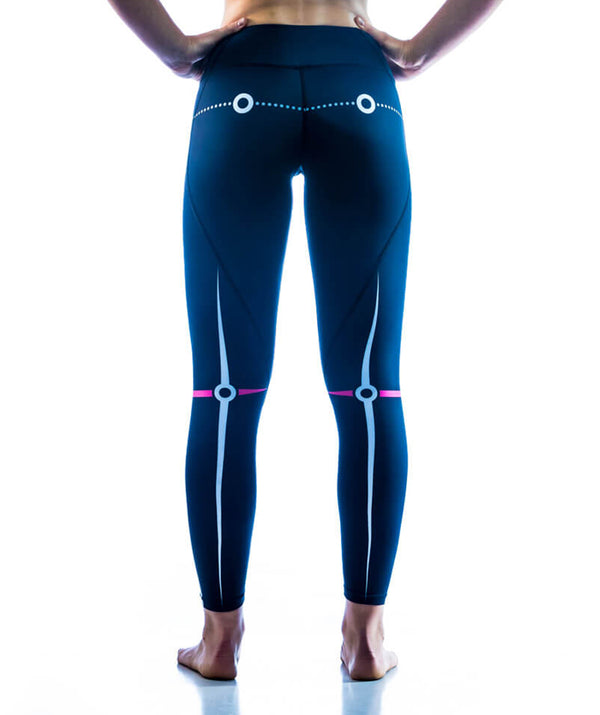 Women's Motion Pro Series Performance Tights - Black - 776BC
