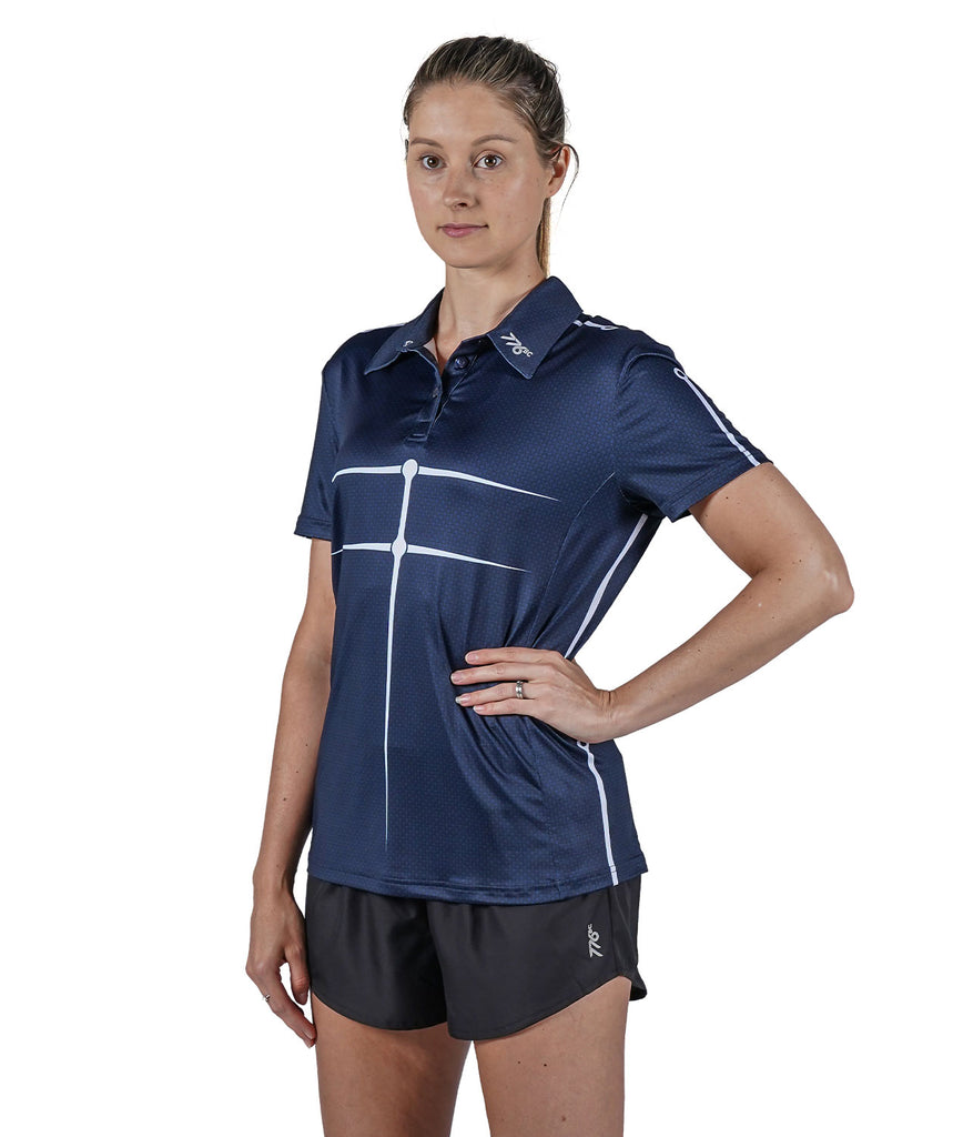 Women's Motion Golf Polo - Navy