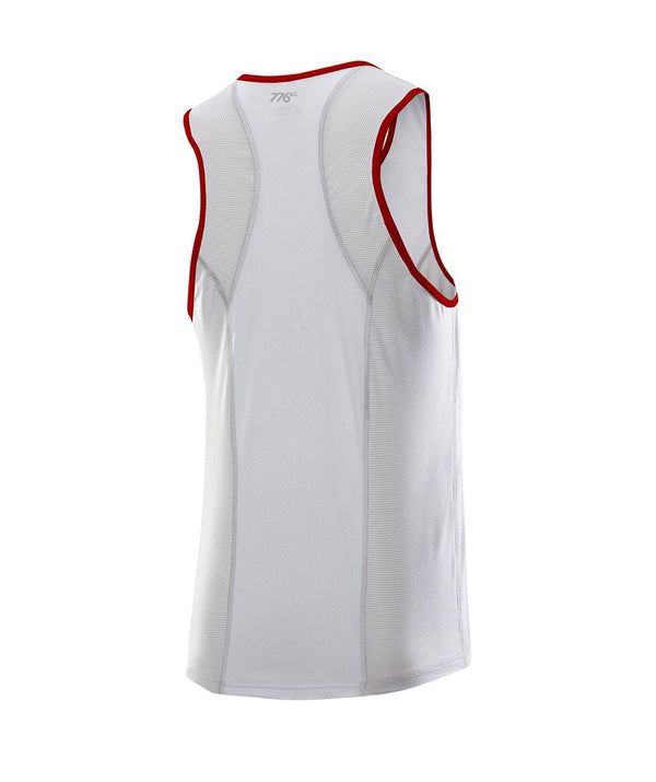 Men's Oar Society Performance Tank - White - 776BC  - Club Shop, OAR