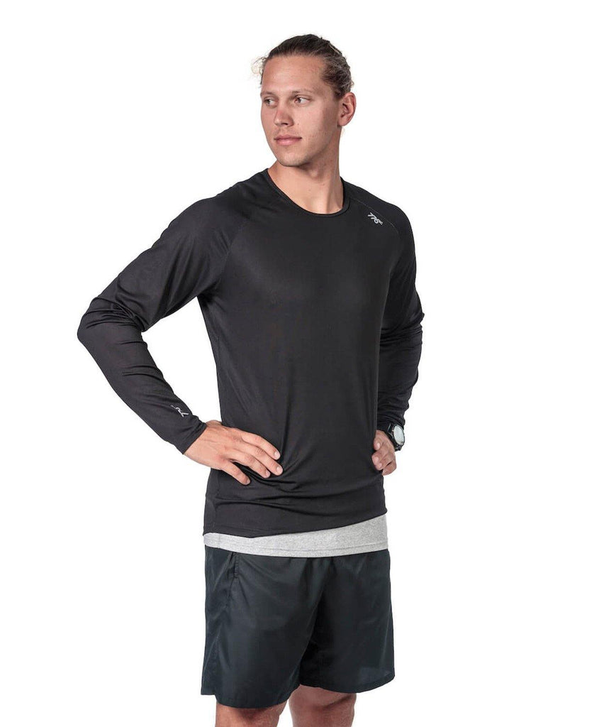 Men's Fortius LS T-Shirt - Black