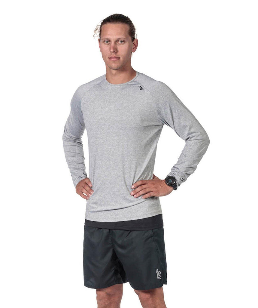 Men's Fortius LS T-Shirt - Grey