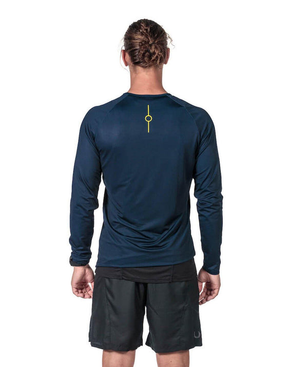 Men's Fortius LS T-Shirt - Navy
