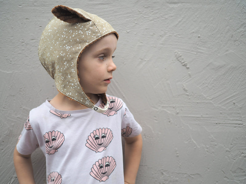bambi with dingo ears -  fawn - myz the label