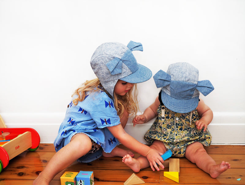 maxie - melange kids hat - myz the label