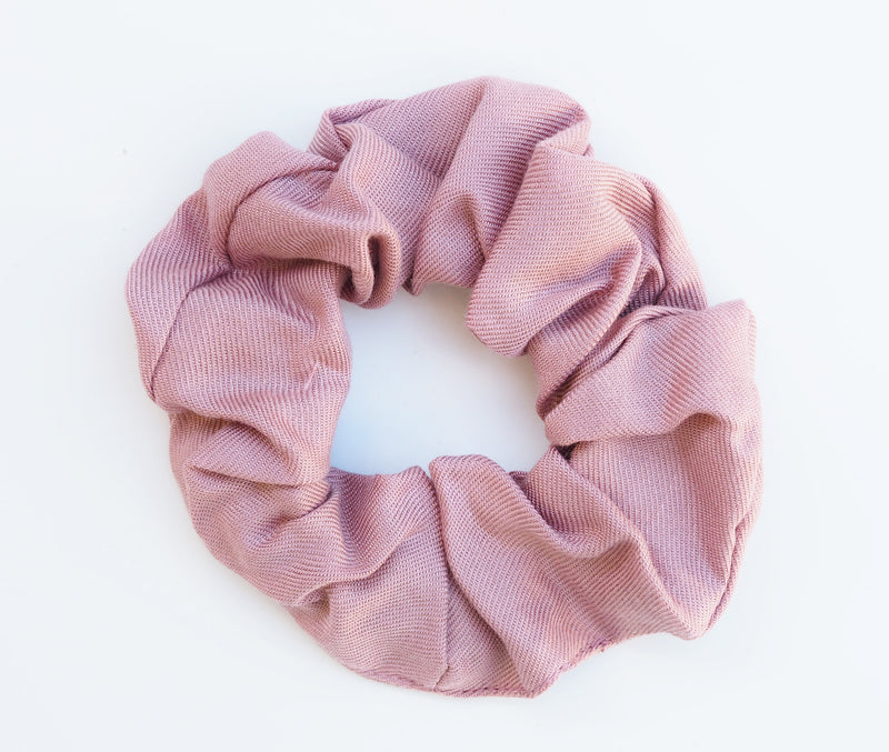 scrunchie dusty pink - myz the label