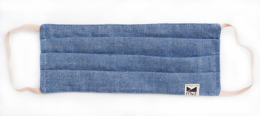 chambray blue KIDS (3-9yrs) - LAST ONE - myz the label