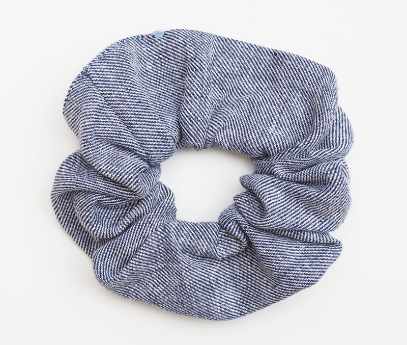 scrunchie chambray