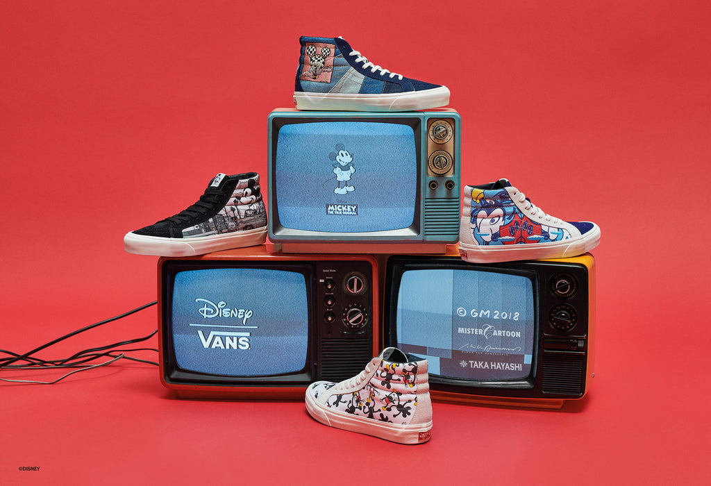 Vans Vault x Mickey Mouse 90th Anniversary