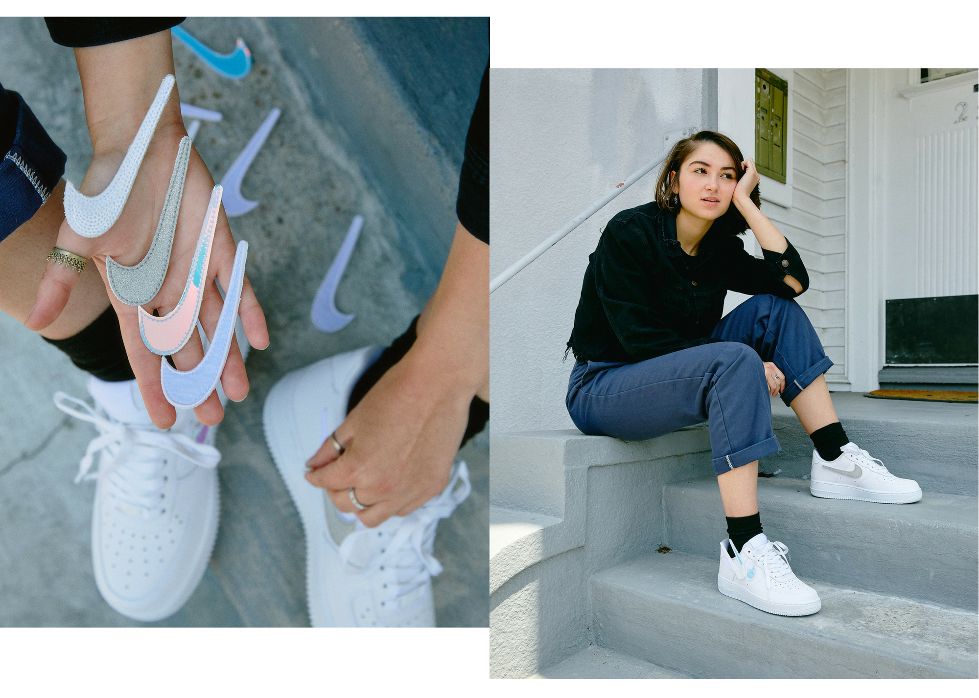 Nike DIY Sneakers for Women \u2013 Bows and Arrows