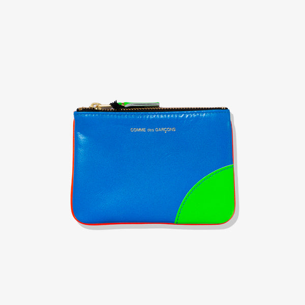 SUPER FLUO POUCH (ORANGE BLUE)