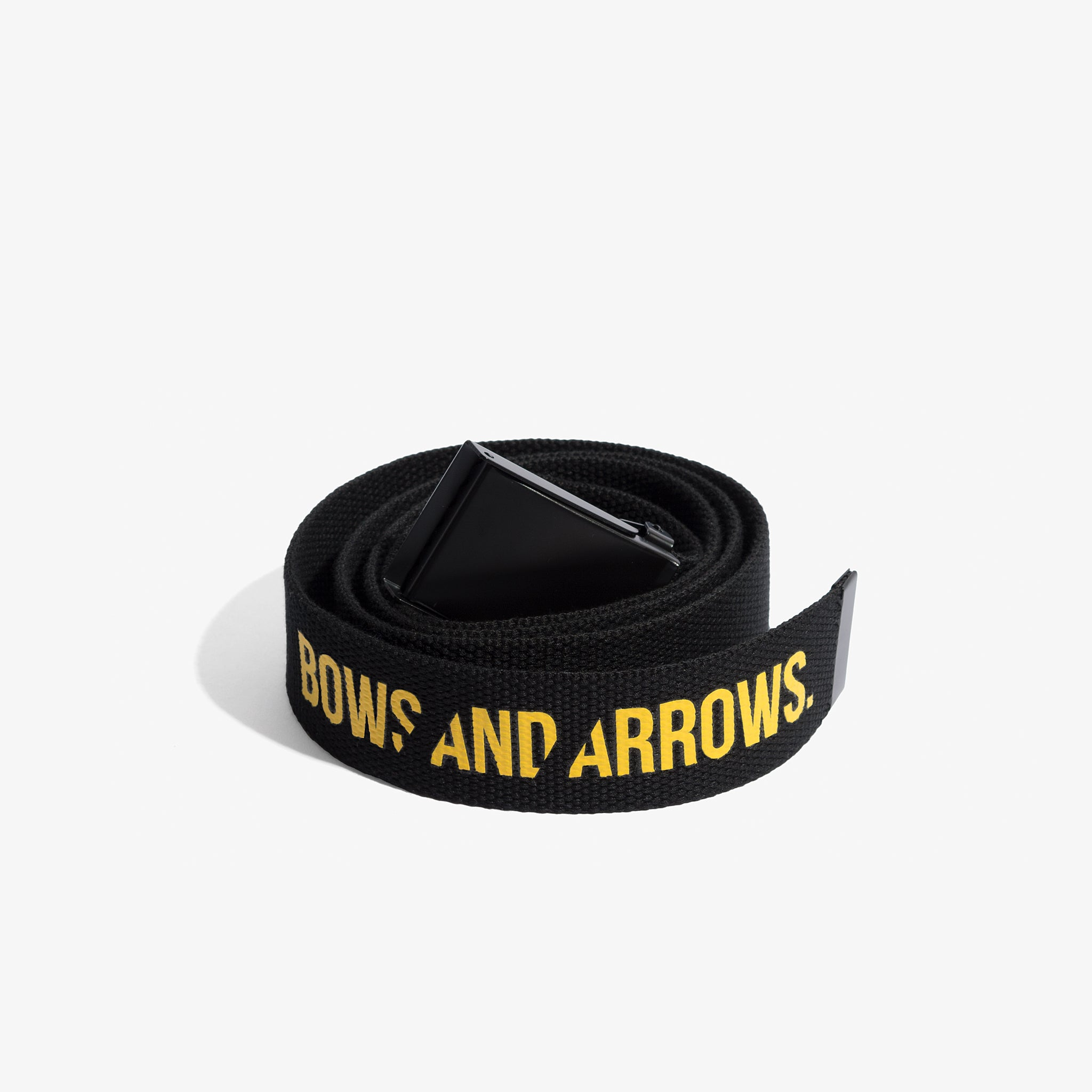 Bows and Arrows Logo Belt (Black)