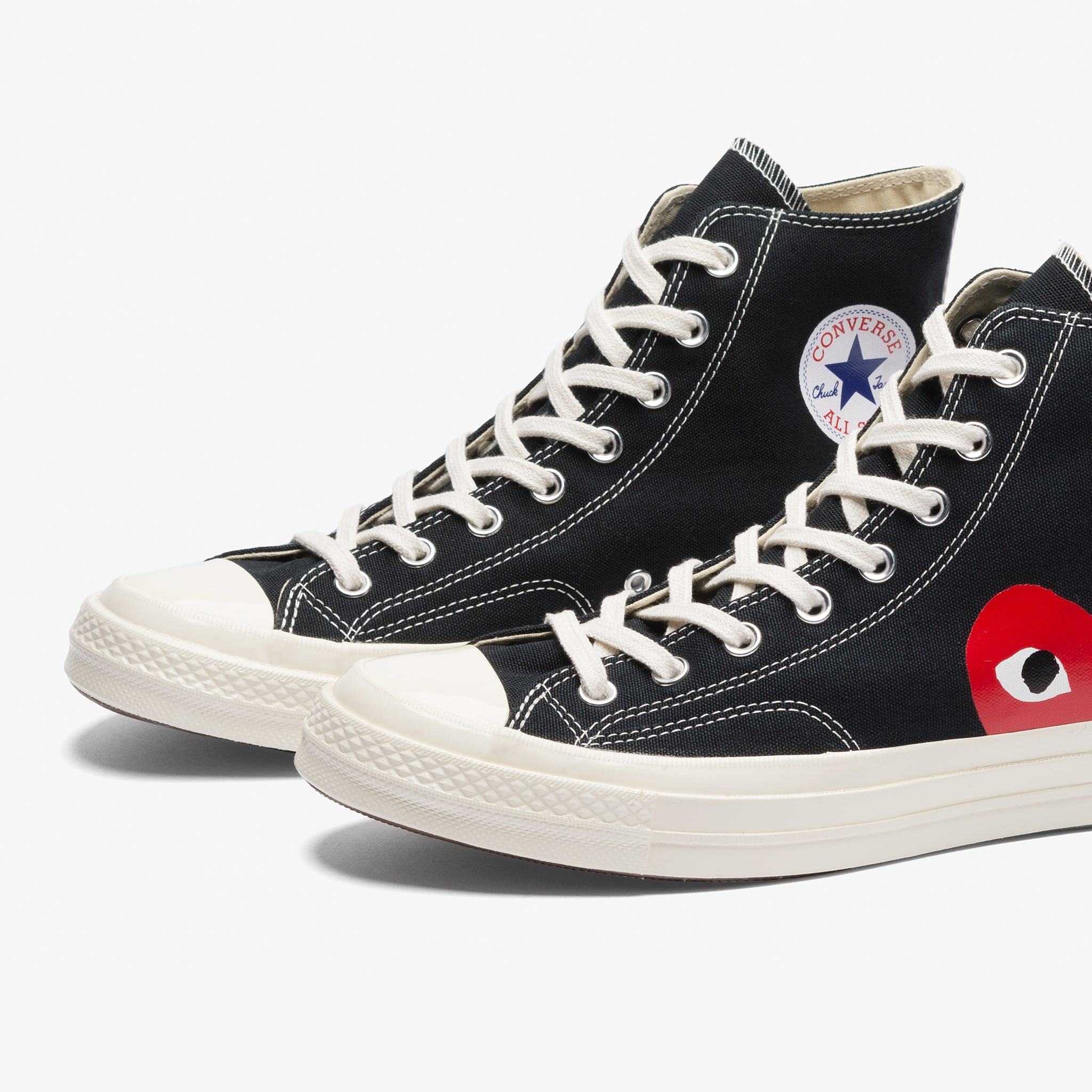 CONVERSE CDG PLAY CT 70 Hi (Black White) – Bows and Arrows 75494b280
