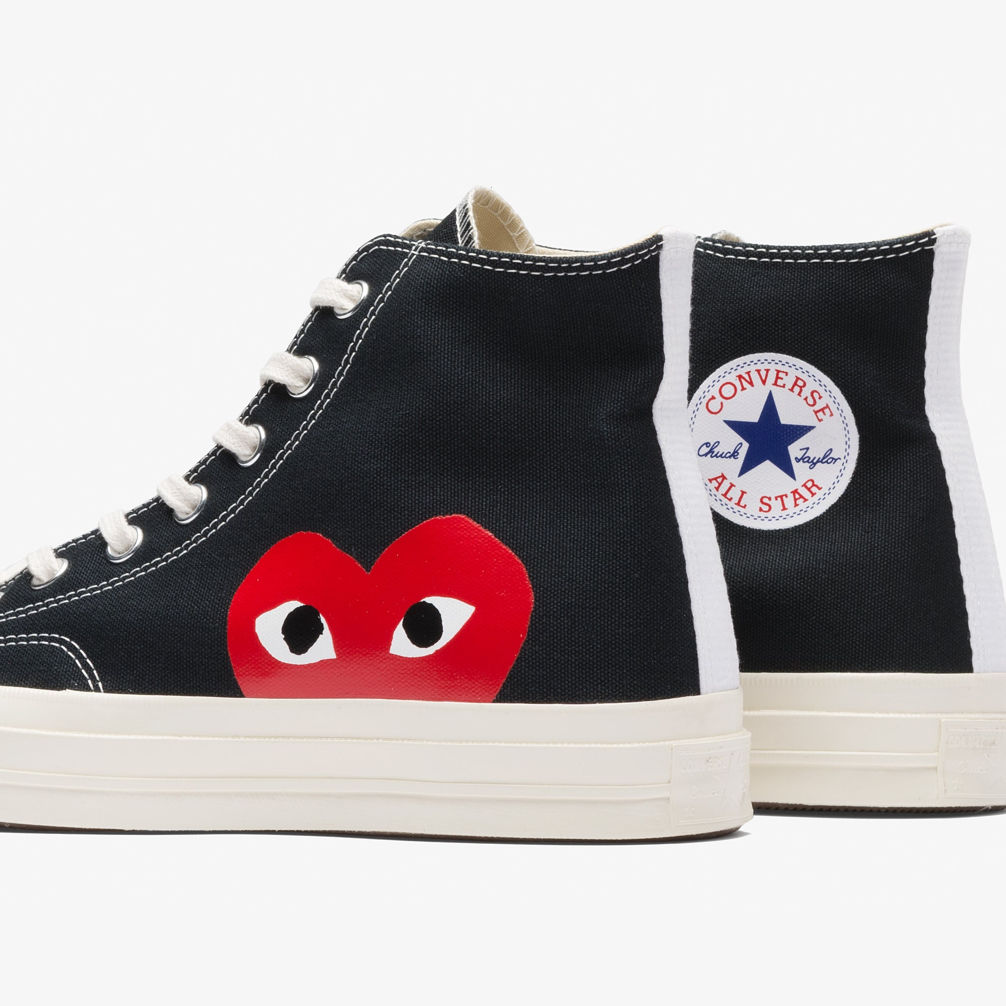 CDG PLAY CT 70 Hi (Black/White)
