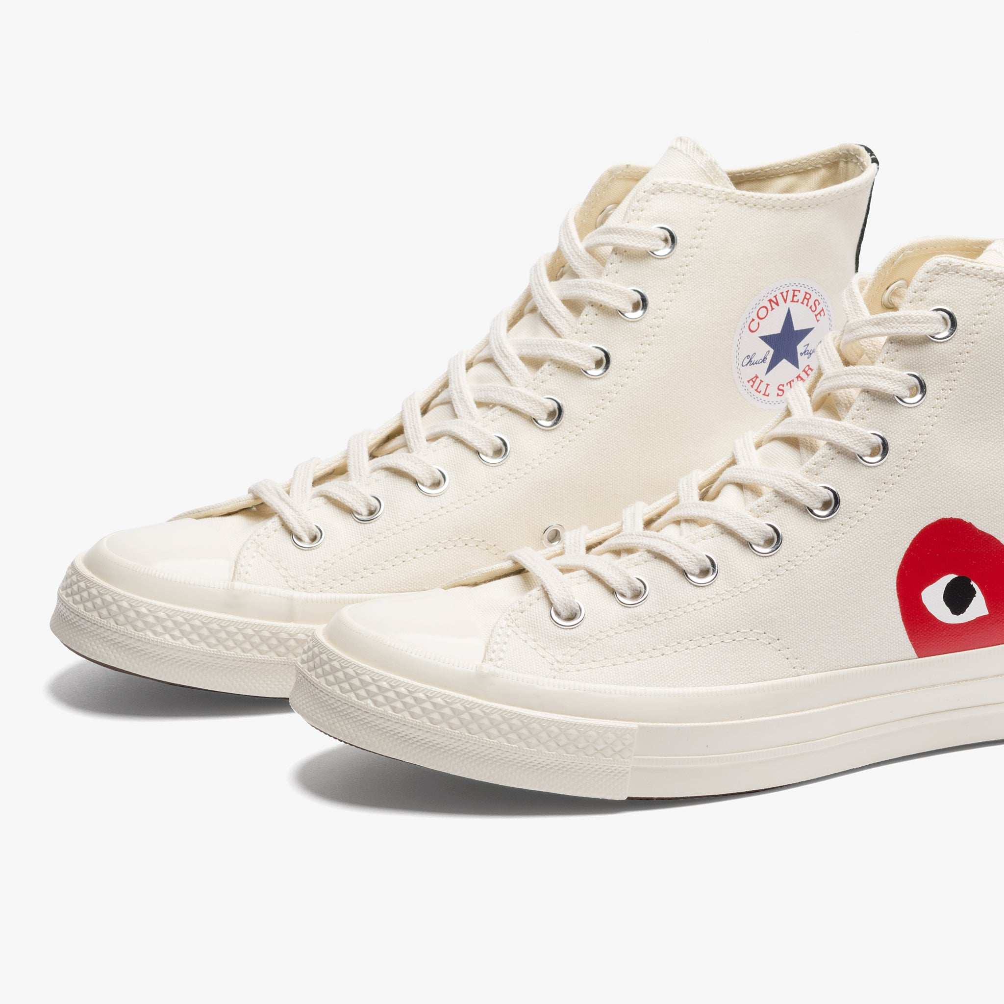 CDG PLAY CT 70 Hi (Milk/White)
