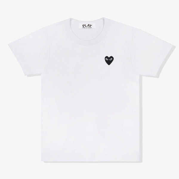 Black Heart Play T-Shirt (White)