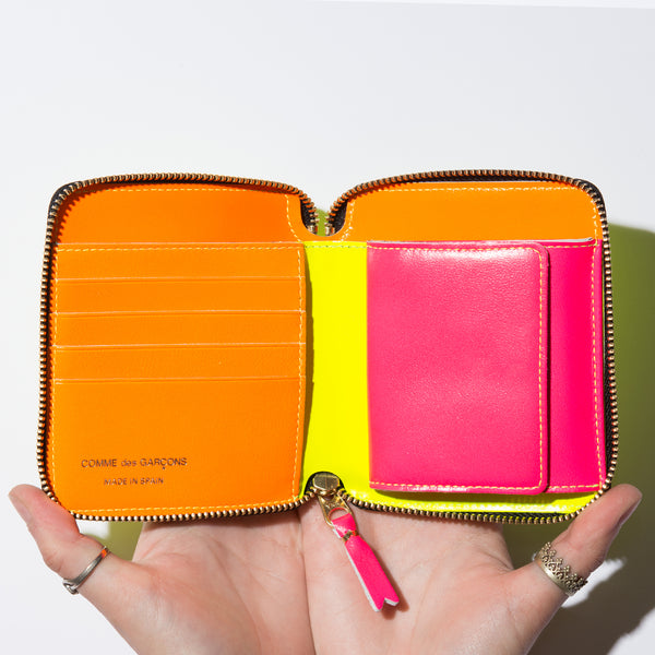SUPER FLUO WALLET (YELLOW)