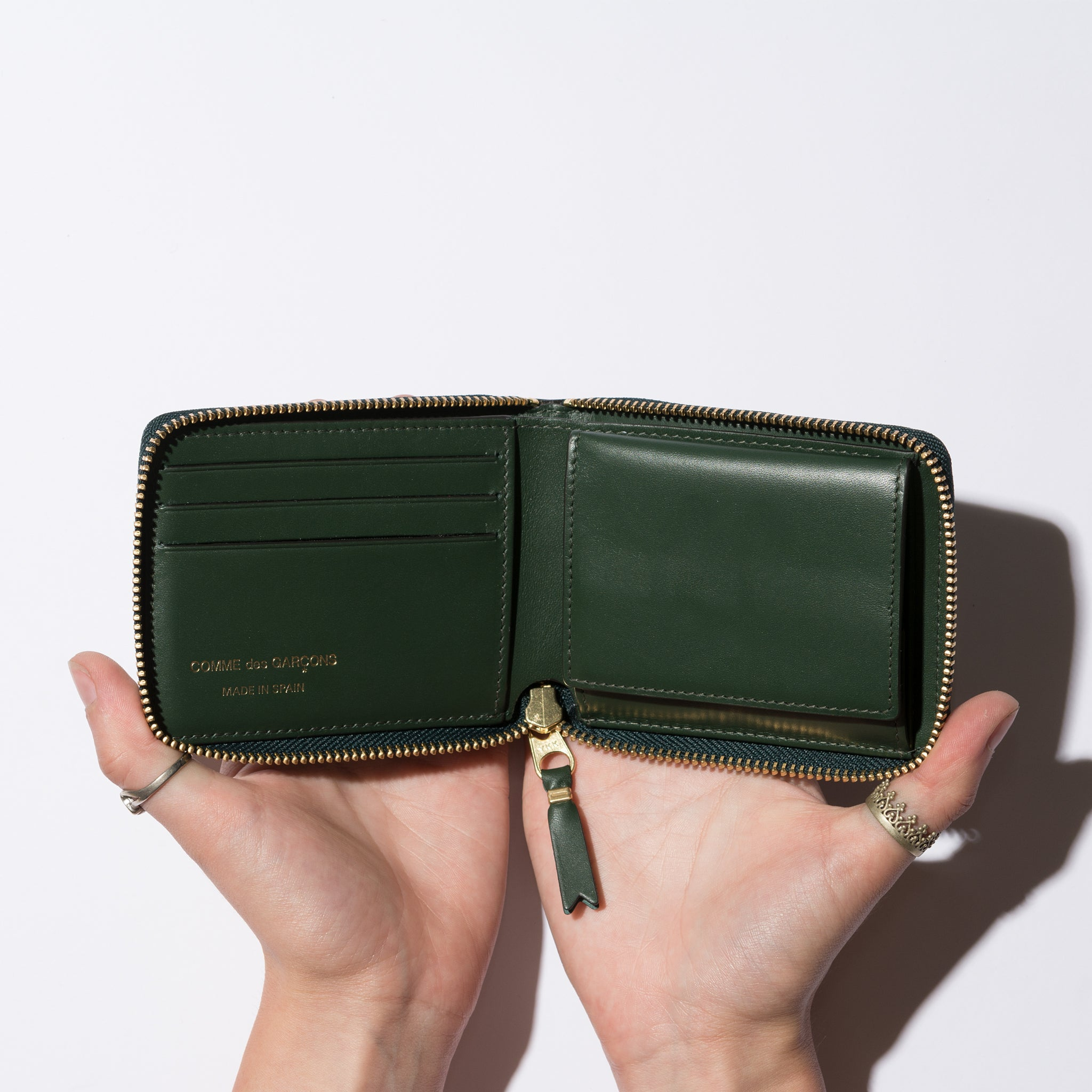 CLASSIC LEATHER LINE (BOTTLE GREEN)