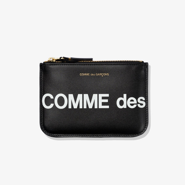 HUGE LOGO POUCH (BLACK)